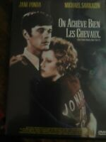 DVD - On achève bien les Chevaux ( 1969 ) - Jane Fonda - Zone 2 - VF - Occasion
