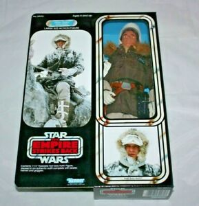 """Custom Kenner Star Wars 12"""" inch Han Solo Action Figure Empire Strikes Back Hoth"""
