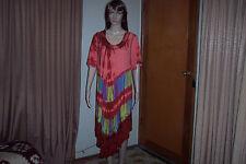 Ladies Gypsy Boho Vintage Dress