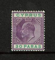 Cyprus SG# 51 Mint Hinged / Multi Hinge Rem / Light Horiz Crease - S3319