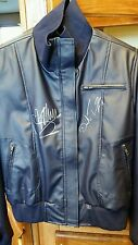 Rose Tyler Purple Leather Jacket - Billie and David Autographed! Perfect Replica