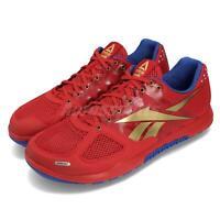 Reebok R CrossFit Nano 2.0 Red Blue Gold Men Cross Training Shoes Sneaker DV5758