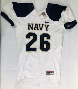 Navy Midshipmen Nike Player Cut Football Jersey Size Large
