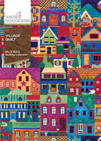 Village Quilt Anita Goodesign Embroidery Design Machine CD