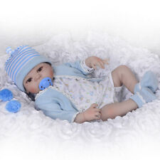 Reborn Baby Doll FULL Body Silicone Dolls 55cm Toy 22'' Toddler Realistic Xmas