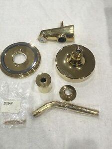 Kohler K-T8224-4-PB Taboret Bath & Shower Faucet Trim - LESS HANDLE AND VALVE
