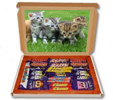 Kittens Animal Pet Cute 24 Bar Cadbury Chocolate Hamper Personalised Gift Box