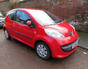 Peugeot 107 Urban . Low Mileage 57K . Good Condition. Long MOT.