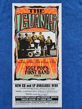 The Iguanas, Cd Release Promotional Poster - Signed By Mark Arminski