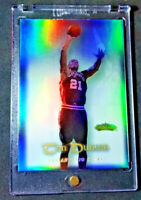 TIM DUNCAN FLAIR SHOWCASE RAINBOW REFRACTOR SP RARE SPURS HALL OF FAME