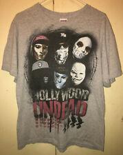 Hollywood Undead T Shirt Size: LARGE  Rock Rap Underground USED