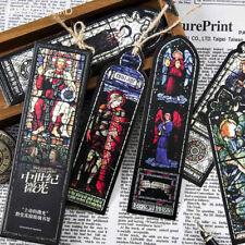 30pc/Box Medieval twilight Bookmark Magazine Note Pad Label Memo Decor Students