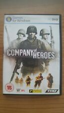 COMPANY OF HEROES,INCLUDING DOUBLE SIDED POSTER+8 CARDS+FIELD MANUAL ,PC DVD-ROM