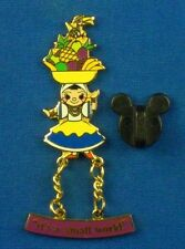 It's a Small World Attraction Brazil Carmen Miranda Doll Dangle Disney Pin # 994