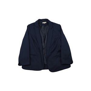 Monsoon Jersey Blazer Jacket - Navy / UK 14