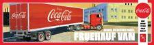 AMT Coca Cola Fruehauf Beaded Van Semi Trailer Coke 1/25 model kit new 1109 *