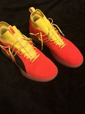 Puma Clyde Court Disrupt Red Blast Basketball Shoe Size 13