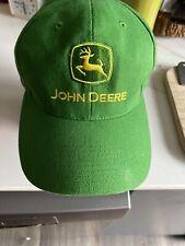 """John Deere Licensed Green Hat / Cap """"Nothing Runs Like a Deere"""""""