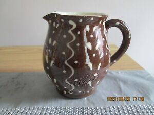 Vintage Wetheriggs?  Penrith Pottery Slipware Jug