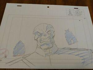 Marvel animation cels Production Art Comics ULTIMATE AVENGERS movie