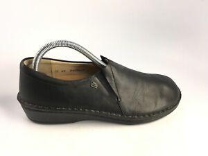 Finn Comfort Women's Newport Slip-on Shoes,Black Nappa,40 D EU  US 9/ 9.5