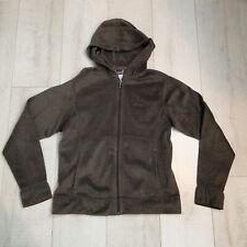 6ec630b74e0 Patagonia Full-zip Hoodie Fleece Jacket Women m Olive Green wd
