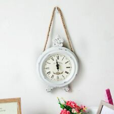 Simple Hanging Bell Wall Clocks Creative Vintage Decoration Home Living Room