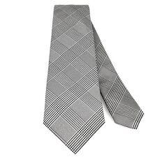 Mirada. corbata tie Prince of Wales Check elementum j001816-2 blanco y negro