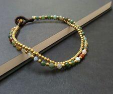 Round  Fancy Jasper  Single Chain  Bracelet