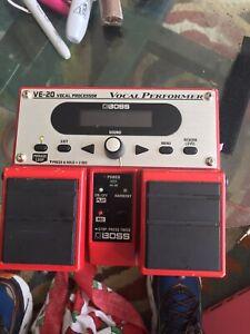 Boss VE-20 Vocal Guitar Effect Pedal
