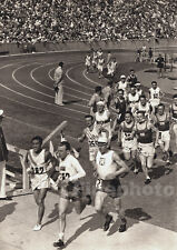 1936 Vintage OLYMPICS Track SON KOREA PALME SWEDEN Photo Art 11x14 By PAUL WOLFF