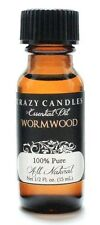 Wormwood Essential Oil 1/2 Fl Oz Bottle 100% Pure Crazy Candles
