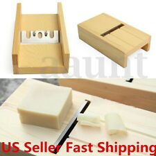 Wooden Beveler Planer Sharp Blade Soap Candle Loaf Mold Cutter Craft Making Tool