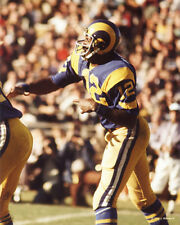 JAMES HARRIS 1974 LA LOS ANGELES RAMS 8X10 PHOTO
