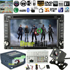 6.2inch Double 2*Din Car Stereo Radio CD DVD Player Bluetooth with Backup Camera