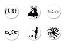 Lot Pack Badge Button Ø25mm Logo The Cure Robert Smith Rock UK