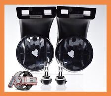 1994-2001 Dodge Ram 1500 2500 3500 Smoke Lens Fog Lights Driving Bumper Lamp