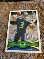Russell Wilson Topps 2012 Rookie Centered Beauty centered