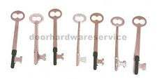 LOCKSMITH PRECUT SKELETON KEY ASSORTMENT bit pre cut master keys tools locks