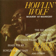 Howlin' Wolf ‎– Moanin' At Midnight 20 BLUES CLASSICS / Blue City Records CD