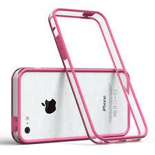 Bumper für Apple iPhone 5C Case Wallet Schutz Hülle Cover Pink