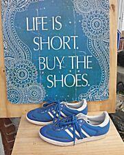 09794c208966a Adidas Classic 3 Strip FTY606001 men s Tennis Sneaker Size 8.5 Royal Blue  NICE
