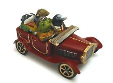 The Wind in the Willows Hand Painted Thimble Set Pewter Diorama Collectable