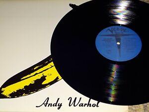 THE VELVET UNDERGROUND & NICO S/T - Vinyl LP Mono - Andy Warhol Lou Reed