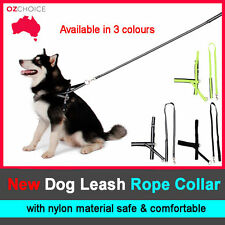 Dog Harness collar Lead leash strap chain Adjustable for Dog Puppy Pet M size