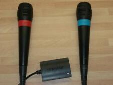 ❤ Singstar Mikrofone für Ps2 - Ps3 - Ps4 Sony Playstation 2-3-4 ❤