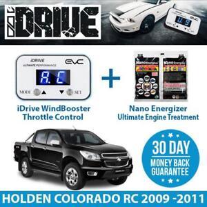 IDRIVE THROTTLE CONTROL FOR  HOLDEN COLORADO RC 2009 -2011 + NANO ENERGIZER AIO