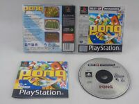 Pong Best Of PS1 PlayStation 1 Complete PAL