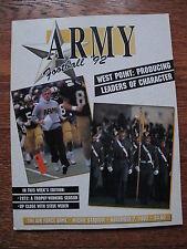 1992 Army Football West Point Military Academy Air Force Falcons Program NCAA
