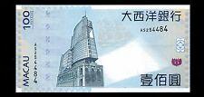 China Macau 2010 100Yuan Paper Money GEM UNC #173